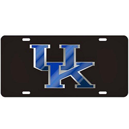 Craftique Kentucky Wildcats Black Laser Cut License Plate