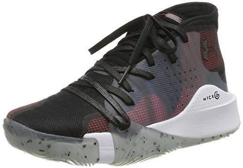 Under Armour UA Spawn Mid, Zapatos de Baloncesto para Niños, Negro (Black 006), 36.5 EU