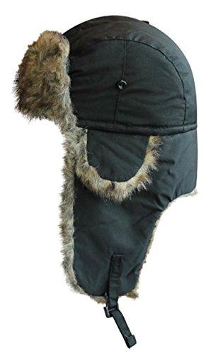 VIZ Trappeur imperméable Noir - Noir - Taille Unique