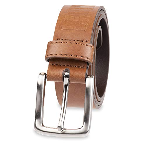 Levi's Boys' Big Kids Belt - School Casual for Jeans Classic Strap and Single Prong Buckle, Tan, Medium