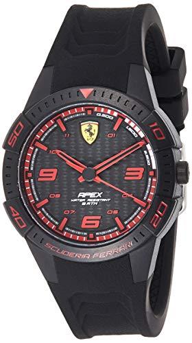 Scuderia Ferrari Reloj Analógico para Hombre de Cuarzo con Correa en Silicona 0840032