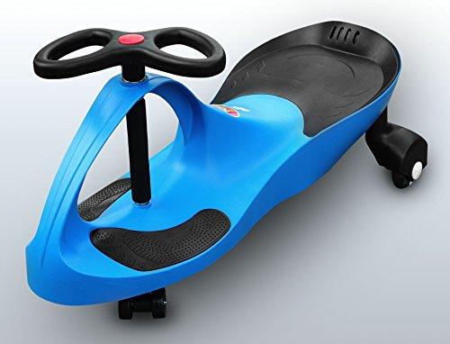 RIRICAR Blu - Auto Serpeggiante, per Bambini con Ruote in PU silenziose