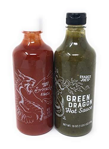 Green Dragon Hot Sauce and Sriracha Combo Pack - Trader Joe's