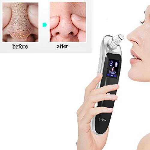 CNCBT Mitesser Entferner Vacuum, Mitesser Removal Artifact Elektro-Saug-Pore Entfernen Akne reinigen Schönheit Saugvorrichtung