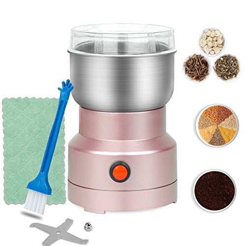 Extra Fine Spice Grinder 150W Mini Electric Seed Grinder Dry Mill 10s Rapid Grinding Spices,Seasonings,Seed,Condiment,Grain