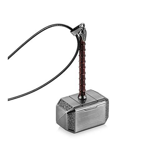 SHOYY Auto-Anhänger-Metallpunk Hammer-Spiegel-Dekoration Hanging Ornamente Anhänger Auto-Innenraum-Suspension Zubehör Geschenk