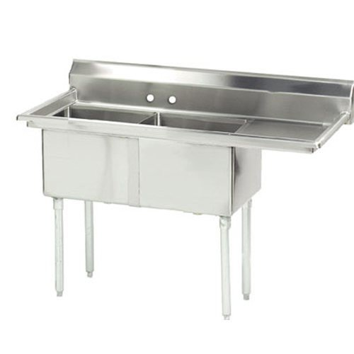 Amazing Deal 74.5 x 29 Single Fabricated Bowl Scullery Sink