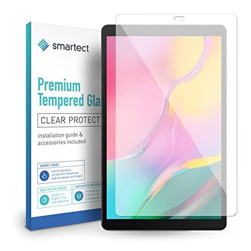 smartect Pellicola Protettiva per Samsung Galaxy Tab A 10.1 2019 (T510, T510N) 9H Vetro Temperato – Design Ultra Sottile – Applicazione Anti-Bolle – Anti-Impronte