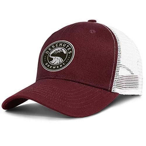 Deschutes-Brewery-Logo- Mens Womens Baseball Hat Adjustable Classic Dad Hat Caps
