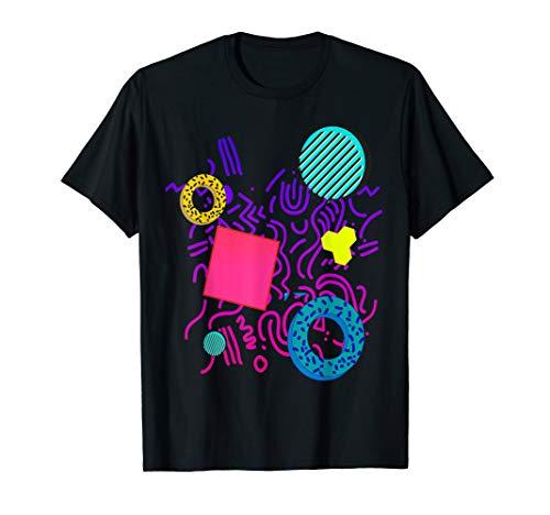 Memphis Style T-shirt Gift Geometric 90s 80s Pattern Tshirt