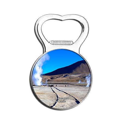Weekino Geyser Del Tatio Atacama Chili Aimant De Réfrigérateur Bière Ouvre-Bouteille Ville Voyage Souvenir Autocollant de réfrigérateur Fort