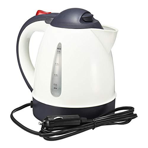 Yi-xir Elegant appearance 1000ml 12V 24V Portable Car Water Kettle Heater Warmer Travel Encampment Tea Coffee Perfect Design (Color : 24V)