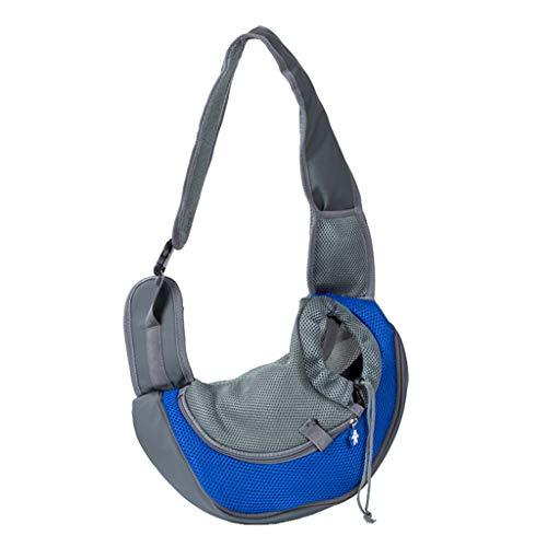 Yunso Hundeträger Rucksack Reisetasche Umhängetasche Mesh Sling Carry Pack