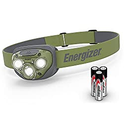 commercial Energizer Forest Green LED headlights, smart dimming technology headlamps