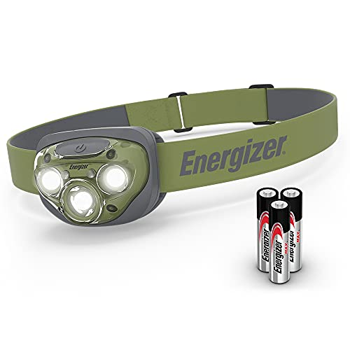 Energizer LED Head Torch, Powerful Bright Headlamp, Water Resistant...
