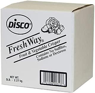 Disco Freshway Fruits and Vegetables Crisper, 5 Pound - 6 per case.