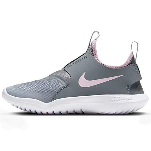 Nike Kids Flex Runner (Infant/Toddler) (LT Smoke Grey/Pink Foam, 7) -  800930
