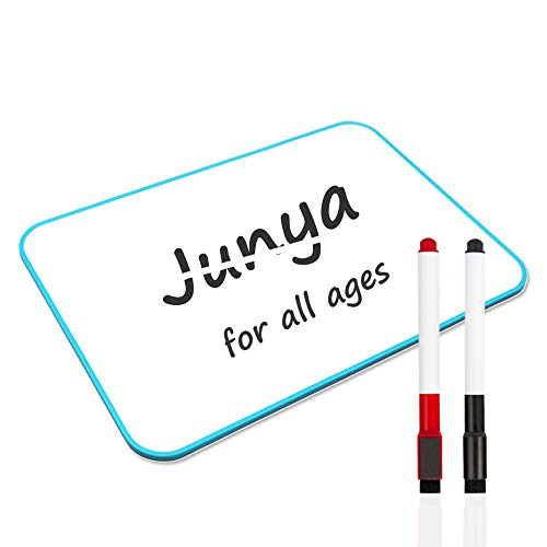 Junya Small Dry Erase Board for Kids (11.8 x 8.3inch),Lightweight Classroom Kids Dry Erase Board Magnetic Double Sided Small Erase Boards Kids Learning Home Office Message Reminder Whiteboard