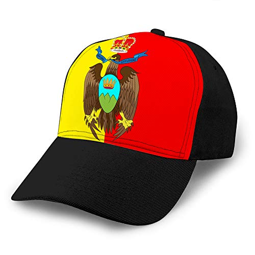 Baseball Caps Trucker Caps Bones Hip Hop Hats for Men Women Flag of Catanzaro of Calabria Italy