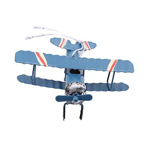 SEVENHOPE Kreative Flugzeug Kuchen Dekorations Geburtstagsfeier Dekorationen Für Das Backen (Blau)