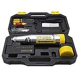CGOLDENWALL Sclerometro per Calcestruzzo 2.207J Resiliometer Rebounce Hammer Test Meter Strumento all'interno della portata di 10-60Mpa