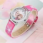 Cartoon-Childrens-Watch-Leather-Strap-Frozen-Theme-Design-Wristwatch-for-Girls-Children-Casual-Quartz-Wristwatch