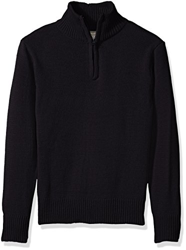 Eddie Bauer Big Boys' Sweater (More Styles Available), Classic Navy, 7