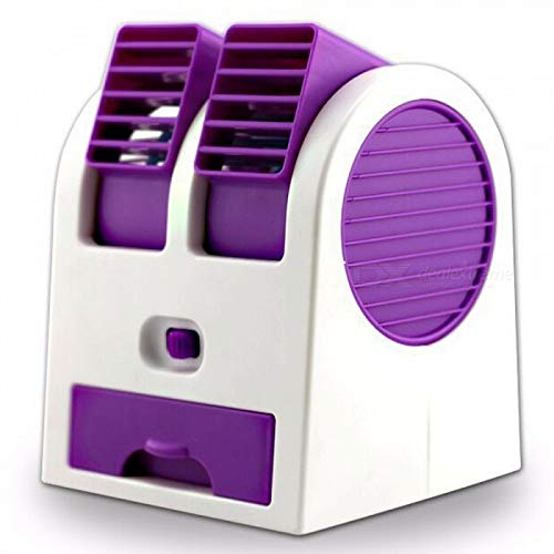Parikshit Sublimation Portable mini AC USBbattery operated air conditionermini water air coolercooling fan Blade less duel blower with ice chamber perfect for Desk,office,study,library,games room,home,car