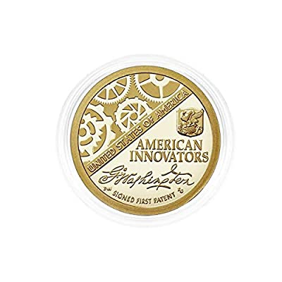 2018 S Set of 5 American Innovation $1 Coin in Edge View Air Tite Capsule Proof