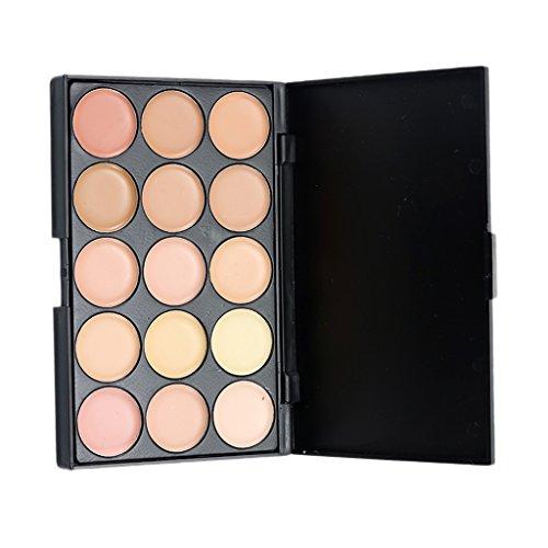 MagiDeal Concealer Palette Abdeckcreme Makeup mit 15 Farben - Pro Kosmetik Schmink Palette - #2