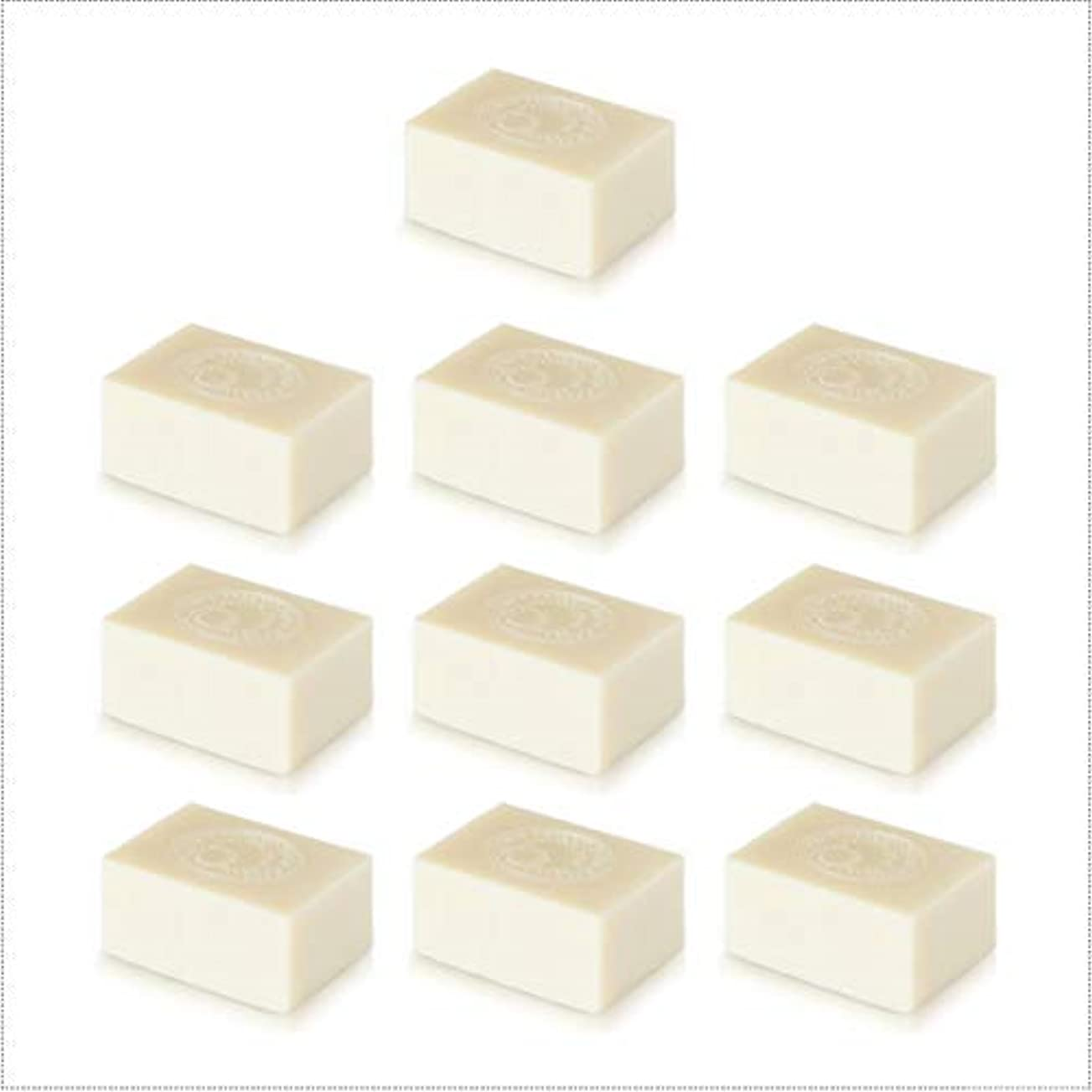 食べるわざわざうめき声アルガン石鹸10個セット( 145g ×10個) ナイアードの無添加アルガン石鹸