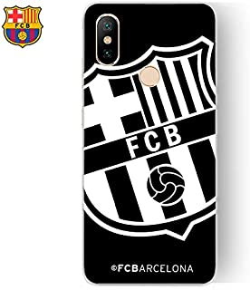 11dd2378107 Urgemovil Carcasa Xiaomi Mi A2 / Mi 6X Licencia Fútbol F.C. Barcelona Negro
