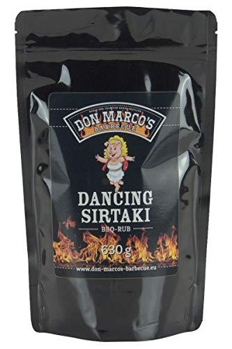 Don Marco's Barbecue Rub Dancing Sirtaki 630g im Nachfüllbeutel, Grillgewürzmischung