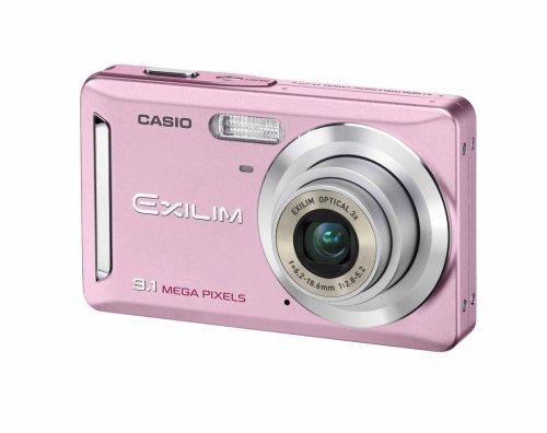 Casio Exilim Z19 - Cámara Digital Compacta 9.3 MP (2.6 Pulgadas LCD, 3X Zoom Óptico), Rosa