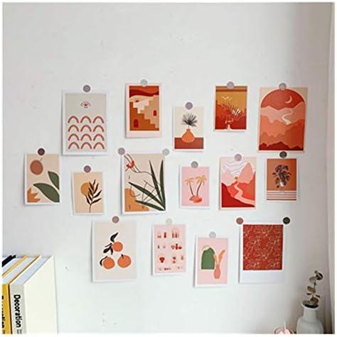 15 vellen ins art botany schemer serie briefkaart foto rekwisieten diy creatieve decoratieve kaart slaapkamer muursticker poster wenskaart Color15 Sheets