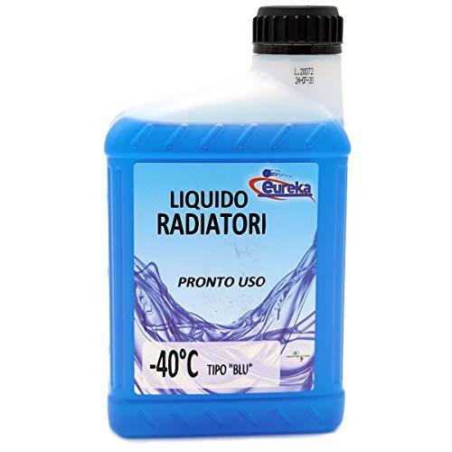 Płyn do chłodnic samochodowych, niebieski płyn niezamarzający do -40°C - 1 litr