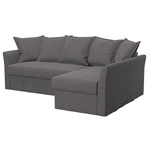 Soferia - Ikea HOLMSUND Fodera per Divano Letto angolare,...