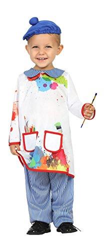 Atosa-27843 Disfraz Pintor, 12 a 24 meses (27843)