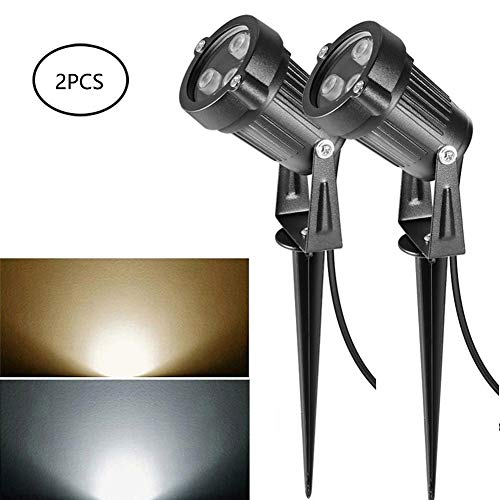WKZWY-furniture cover 3W LED Garden Light Landscape Lights, 2PCS Imperméable IP65 Outdoor Lawn Lamp for Outdoor Yard (Color : B, Size : 3W)