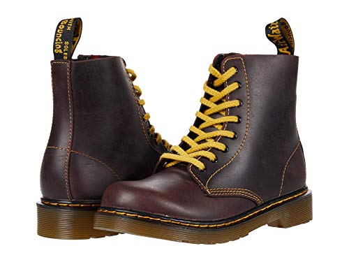 Dr. Martens Kid's Collection 1460 Pascal (Little Kid/Big Kid) Oxblood Pablo 3 UK (US 4 Big Kid) M