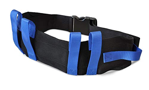 """NYOrtho Transfer Gait Belt with 6 Handles - Quick Release Buckle for Elderly and Patient Care   Adjustable Size 28"""" to 55"""""""