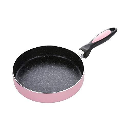 Sartén antiadherente con recubrimiento anti-rasguño Aleación de aluminio antiadherente Pancake Pan frito bistec tortilla de huevo DIY turrón de ca