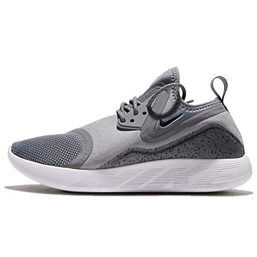 Nike Womens Lunarcharge Essential Running Trainers 923620 Sneakers Shoes (UK 3.5 US 6 EU 36.5, Cool Grey Black 002)