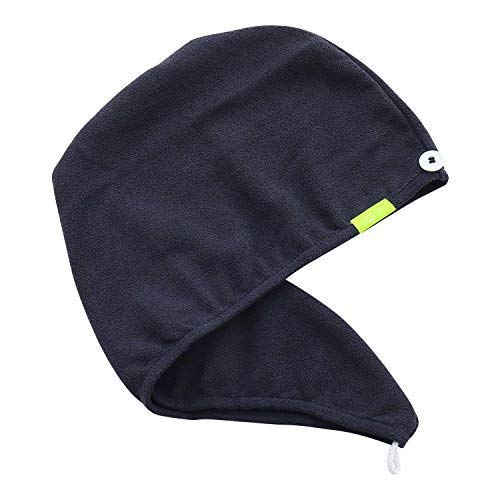 Aquis pelo de microfibra turbante, Lisse Crepe, patentado diseño