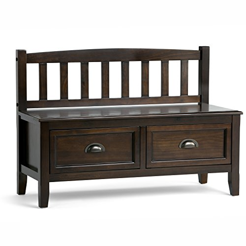 Simpli Home Burlington Entryway Bench