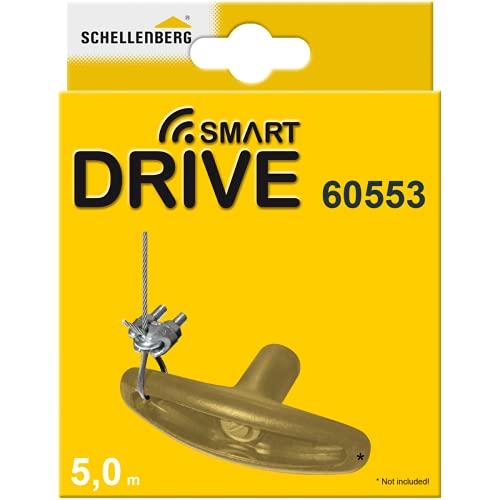 Schellenberg 60553 Sblocco di Emergenza per Kit automazione Basculante Porte di Garage Drive