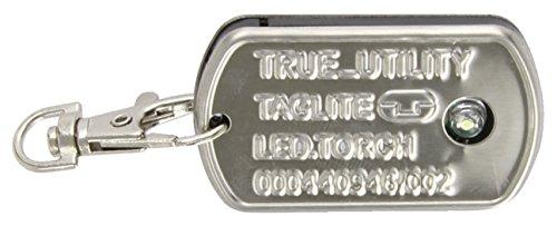 True Utility TU233 TagLite Petite Lampe de poche LED meilleure luminosité pour porte-clés