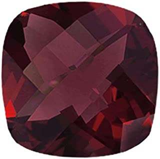 Instagem Natural Mozambique Garnet Cushion Checkered Cut Shape AAA Quality from 5MM-12MM