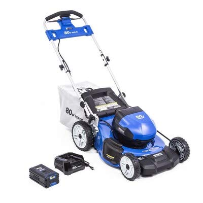 Kobalts 80-Volt Max Brushless Lithium Ion Self-propelled 21-in Cordless Electric Lawn Mower (6.0ah Battery and Charger Included)
