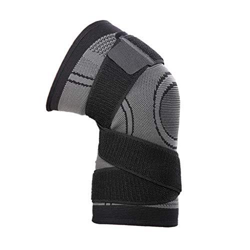 FLAMEER Kniebandage Kniestütze Verband Schmerzen Kompression Sport Bandage Knieschoner - 2XL